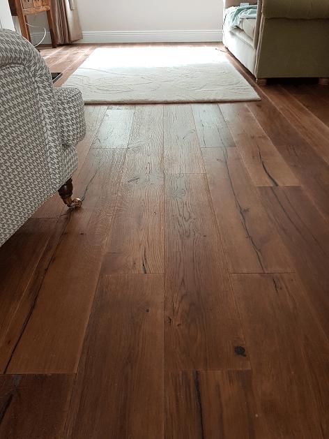 Grain and Groove Dark Wood Flooring