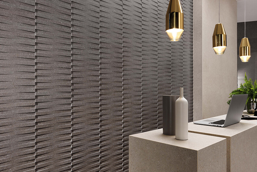 Grain and Groove Wall Tiles